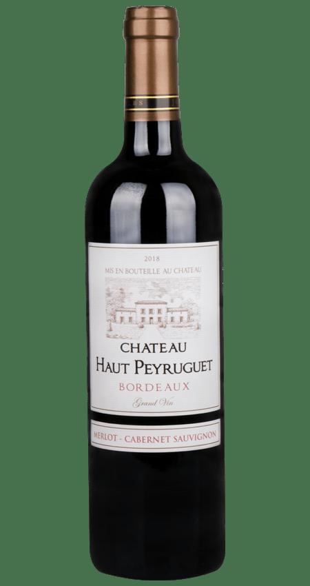 91 Pt. Château Haut Peyruguet Bordeaux 2018