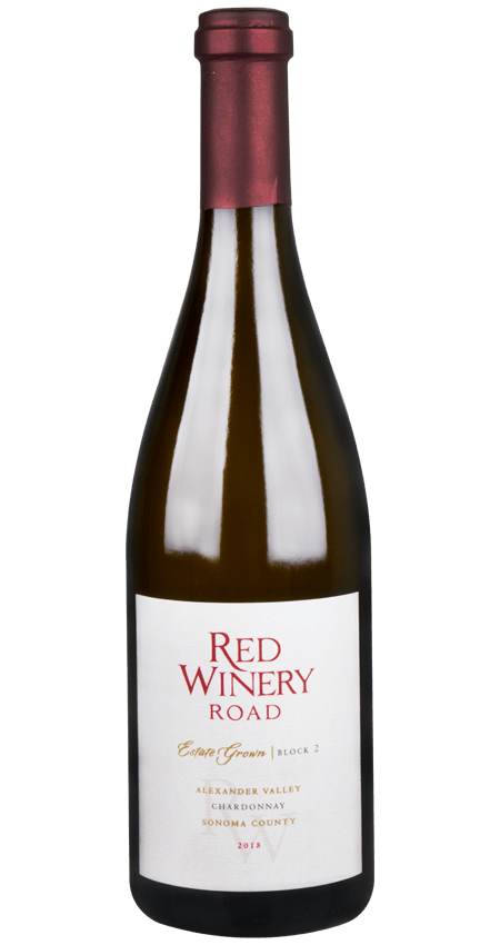Robert Young Estate Chardonnay Red Winery Road Alexander Valley 2018