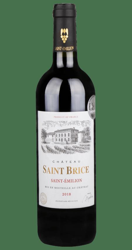 92 Pt. Château Saint Brice AOC Saint-Émilion 2018