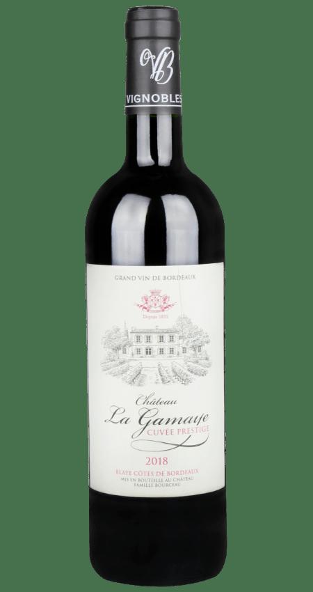 Château La Gamaye Blaye Côtes de Bordeaux Cuvée Prestige 2018