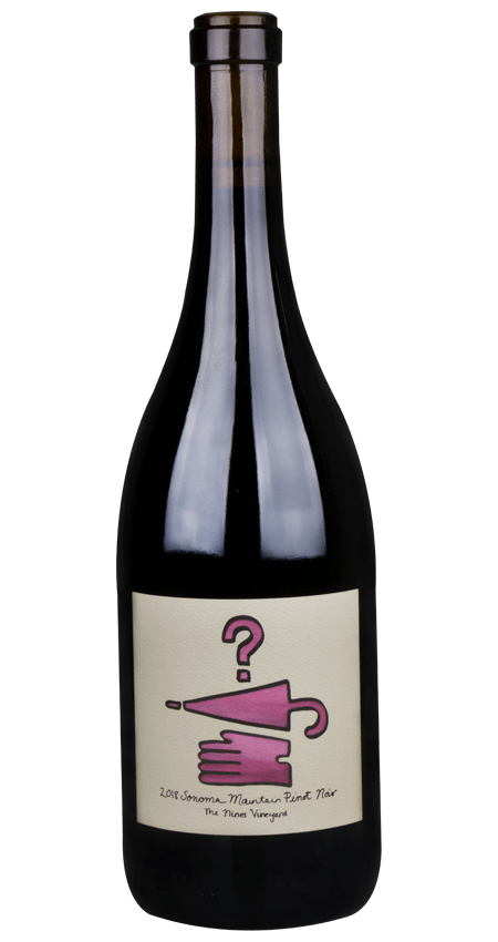 Lost and Found Cellars Sonoma Mountain 'The Nines Vineyard' Pinot Noir 2018
