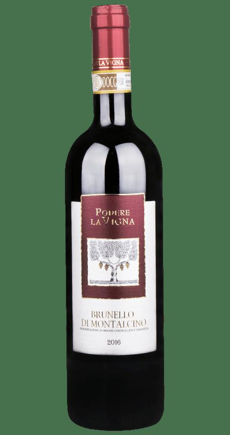 95 Pt. Podere La Vigna Brunello DOCG 2016