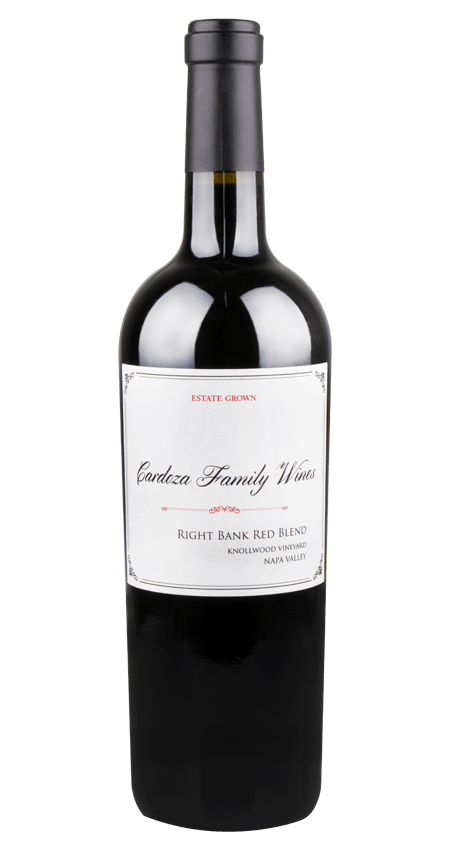 Cardoza Family Winery Napa Valley Red Blend Knollwood Vineyard 'Right Bank' 2018
