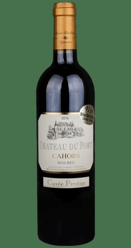 Château du Port Cuvée Prestige Malbec Cahors 2016