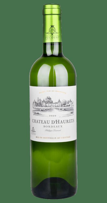91 Pt. Château d'Haurets Bordeaux Blanc 2020