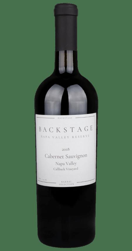 Backstage Wines Cabernet Sauvignon Callback Vineyard Rutherford 2018
