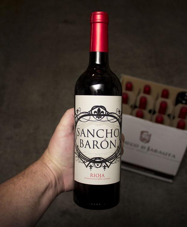 Sancho Baron Tempranillo Rioja 2018
