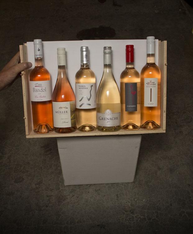 6 Bottle 2020 Rose Sampler — $85