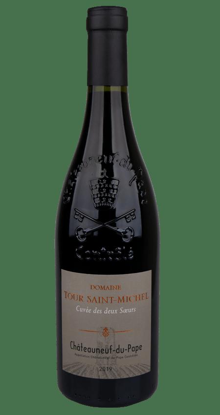 93 Pt. Châteauneuf-du-Pape 2019 Domaine Tour Saint-Michel Cuvée des Deux Soeurs