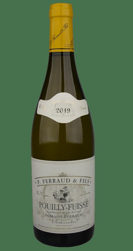 92 Pt. White Burgundy Pouilly-Fuissé Domaine Ferraud l'Entreroches 2019