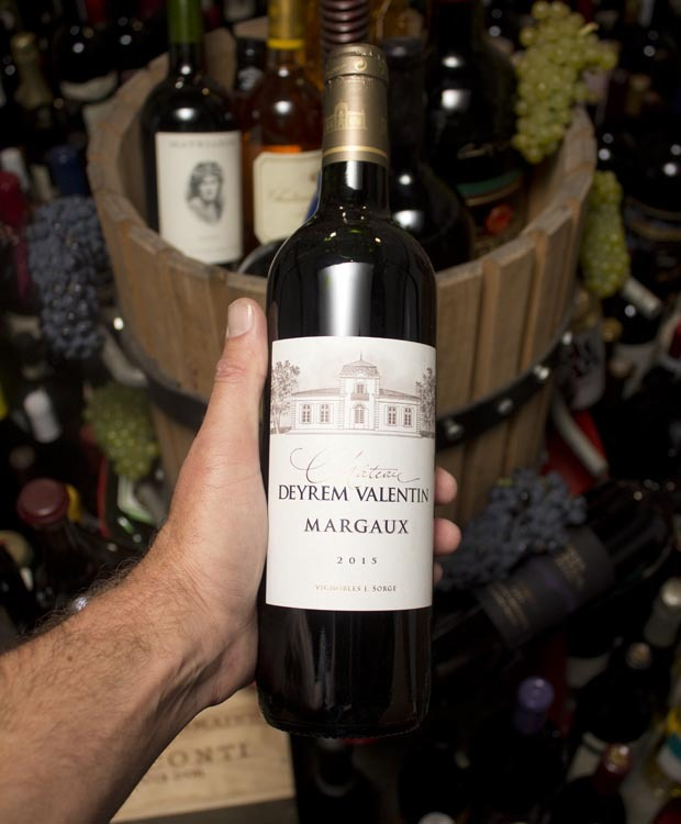 Chateau Valentin Margaux Red Wine 2015