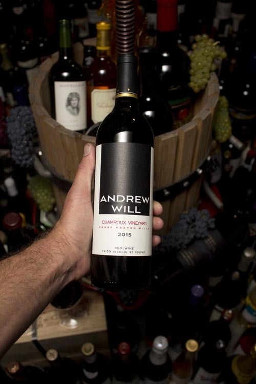 Andrew Will Red Blend Horse Heaven Champoux Red Blend 2015