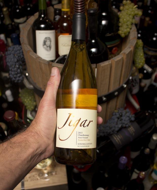 Jigar Chardonnay Peters Vineyard Russian River Valley 2015