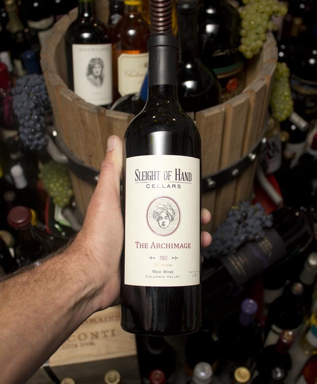 Sleight of Hand the Archimage Red Wine Reserve 2017