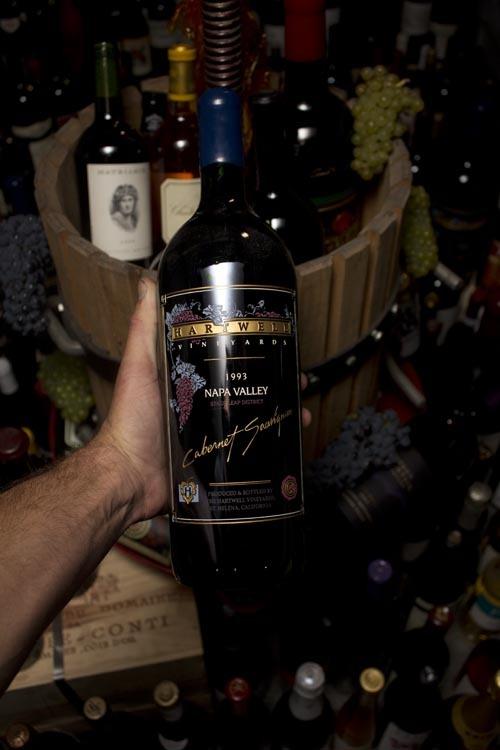 Hartwell Cabernet Sauvignon Grace Stags Leap Etched 1993 (Magnum)