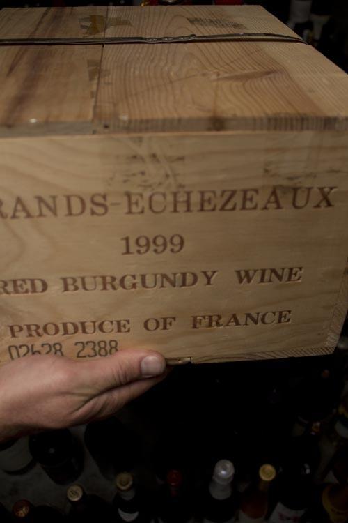 Domaine de le Romanee Conti Grands-Echezeaux Grand Cru 1999 (Banded 6-pack OWC)