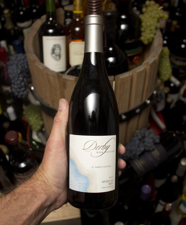 Derby Wine Estates Fifteen 10 Red Paso Robles 2015