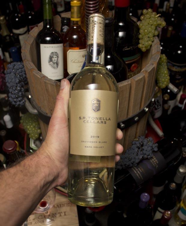 S.R. Tonella Cellars Sauvignon Blanc 2019
