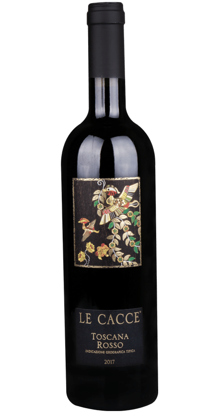 92 Pt. Super Tuscan 2017 Donna Olga Le Cacce Toscana Rosso