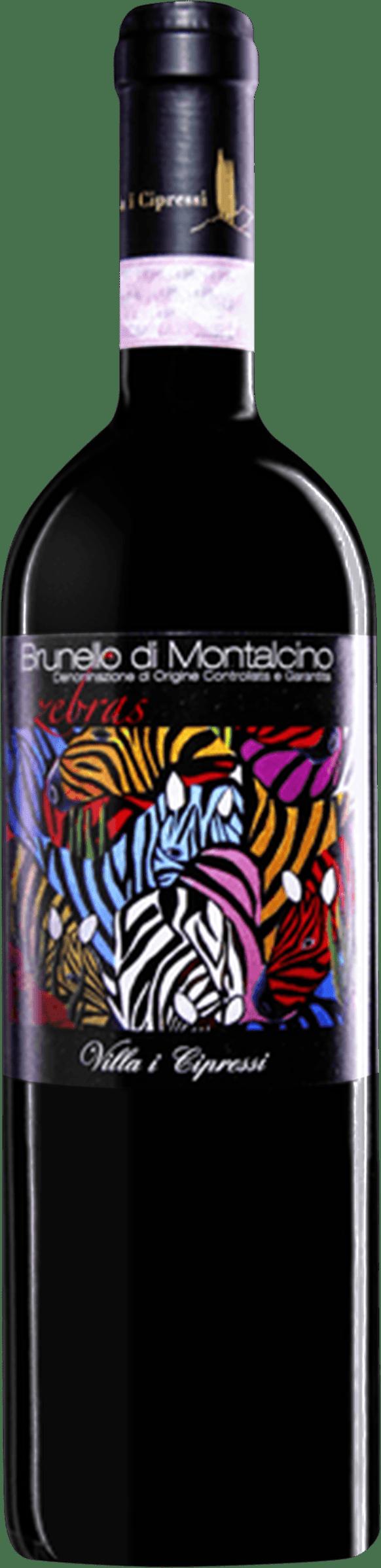 2016 Villa I Cipressi Zebras Brunello Di Montalcino