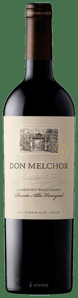 Don Melchor Cabernet Sauvignon 2018