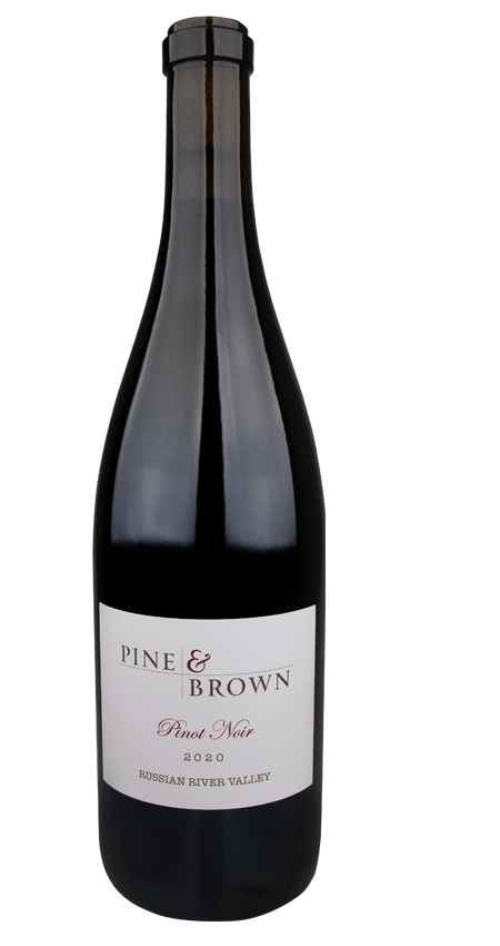 Pine and Brown Russian River Pinot Noir 2020