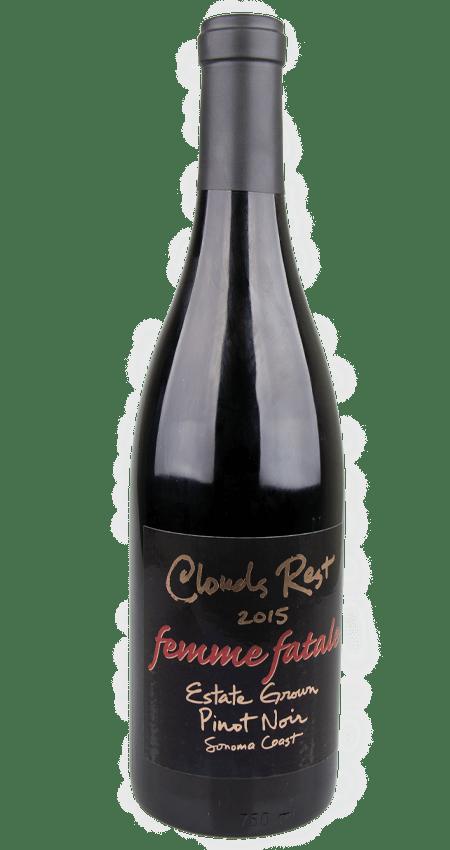 Clouds Rest Estate Pinot Noir 2015 'Femme Fatale'