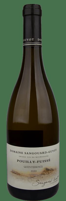 Pouilly-Fuissé White Burgundy 2020 Domaine Sangouard-Guyot 'Quintessence'