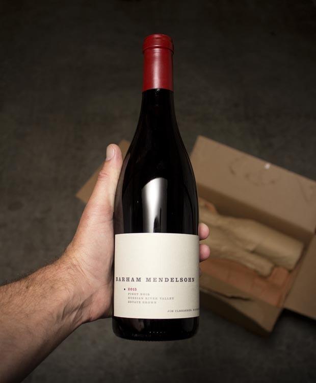 Barham Mendelsohn Pinot Noir Russian River Valley 2015