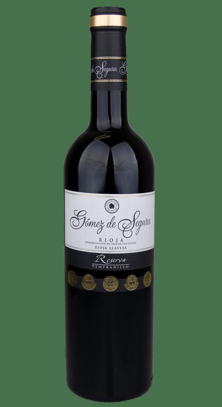 93 Pt. Gómez de Segura Rioja Reserva 2015