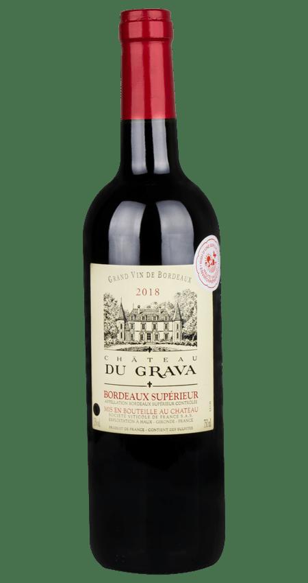 Château Du Grava Bordeaux Supérieur 2018