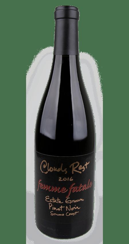 Clouds Rest Sonoma Estate Pinot Noir 2016 'Femme Fatale'
