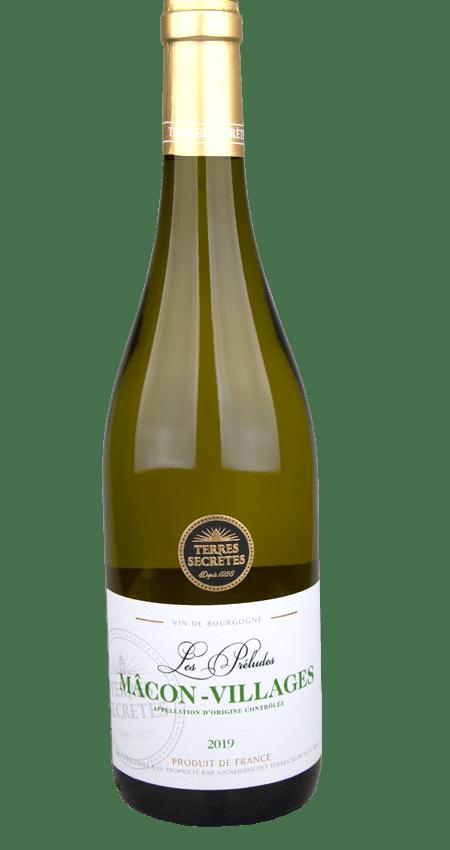 Terres Secrètes Mâcon-Villages Les Préludes White Burgundy 2019