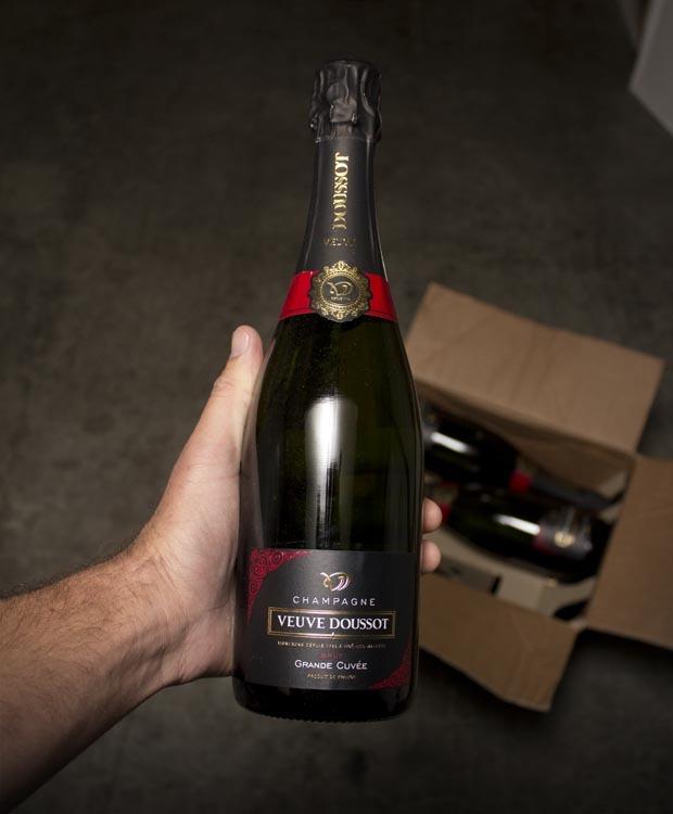 Veuve Doussot Champagne Grande Cuvee Brut NV
