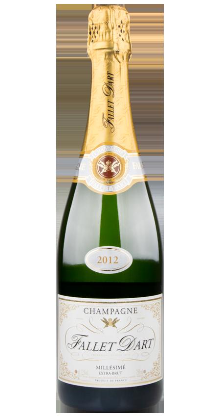 95 Pt. Fallet Dart Extra-Brut Champagne 2012